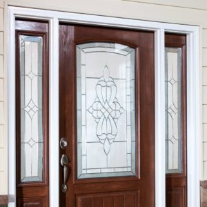 entry door exterior angle closed